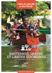 Cahier de vadrouille - Brochure touristique de l'office de tourisme Sauternes Graves Landes Girondines